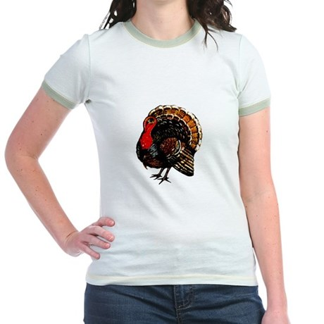Thanksgiving Turkey Jr. Ringer T-Shirt