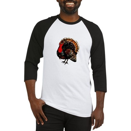 Thanksgiving Turkey Baseball Jersey
