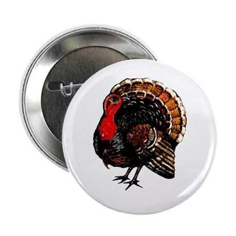 "Thanksgiving Turkey 2.25"" Button"