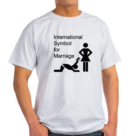 Symbol for Marriage Light T-Shirt