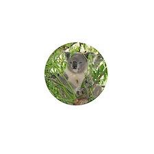 Helaine's Koala Bear Mini Button