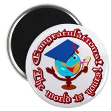 "Graduation 2.25"" Magnet (10 pack)"