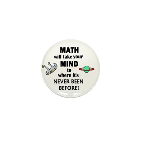 MATH will take your MIND to N Mini Button