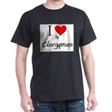 I Love My Clergyman T-Shirt
