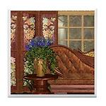 Flight of the Swan (Elegant) Tile Coaster