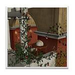 Summer Siesta Balcony Tile Coaster
