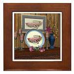 My Old Car Framed Tile