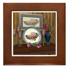 My Old Car Framed Tile