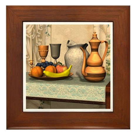 Be Our Guest Framed Tile