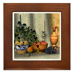 Sophistication Framed Tile