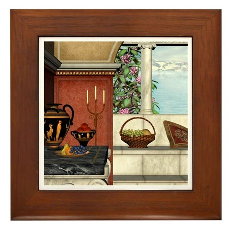 Summer Siesta Framed Tile