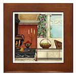 Summer Siesta Framed Tile