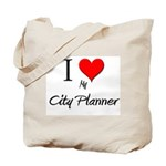 I Love My City Planner Tote Bag