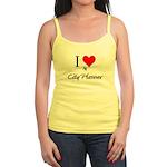 I Love My City Planner Jr. Spaghetti Tank