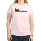 Retro White Water Rafting T-Shirt