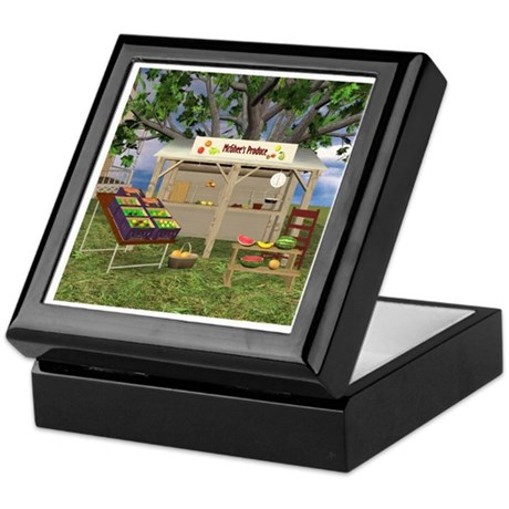 The Fruit Stand Keepsake Box