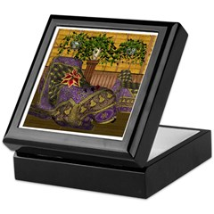 Jewels of India (Purple) Keepsake Box
