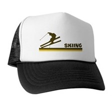 Retro Skiing  Trucker Hat