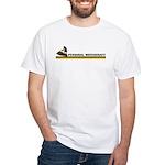 Retro Personal Watercraft White T-Shirt