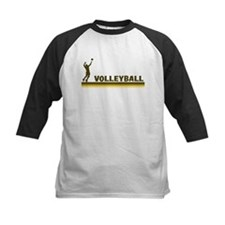 Retro Mens Volleyball Tee