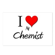 I Love My Chemist Postcards (Package of 8)