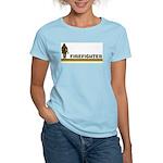 Retro Firefighter Women's Light T-Shirt