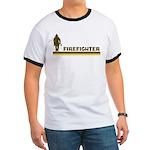 Retro Firefighter Ringer T