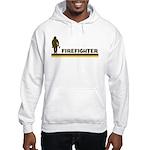 Retro Firefighter Hooded Sweatshirt