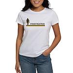 Retro Firefighter Women's T-Shirt