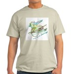 Motocyclist Ash Grey T-Shirt