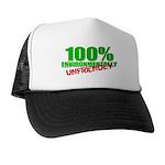 100% Environmentally Unfriend Trucker Hat