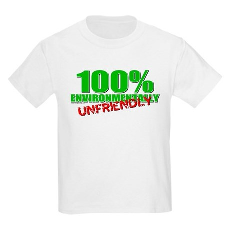 100% Environmentally Unfriend Kids Light T-Shirt