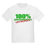 100% Environmentally Unfriend Kids Light T-Shirt