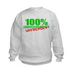 100% Environmentally Unfriend Kids Sweatshirt