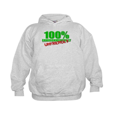 100% Environmentally Unfriend Kids Hoodie