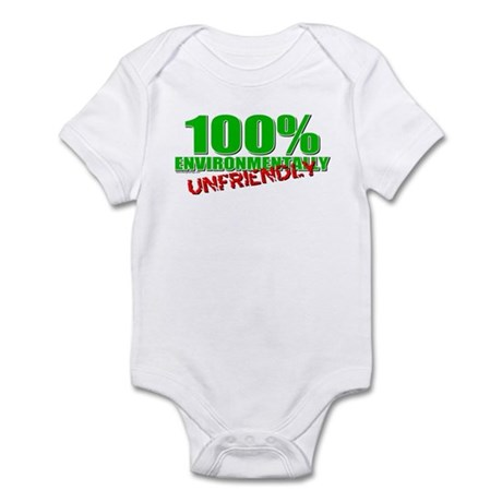 100% Environmentally Unfriend Infant Bodysuit