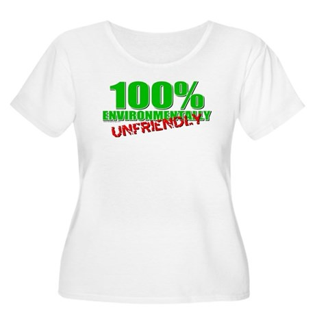 100% Environmentally Unfriend Women's Plus Size Sc