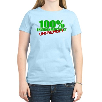 100% Environmentally Unfriend Women's Light T-Shir
