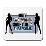 Two Women Short Mousepad