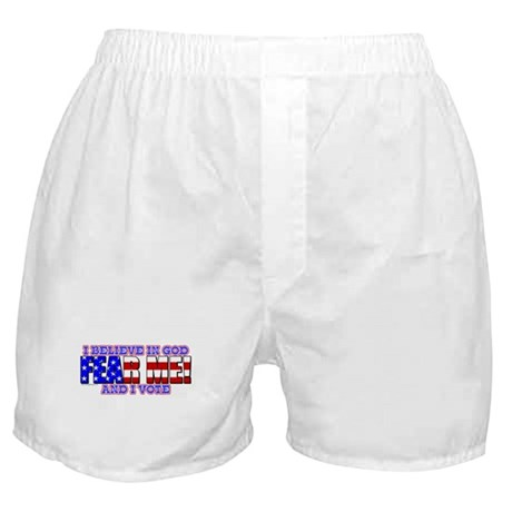 Fear Me! (God) Boxer Shorts