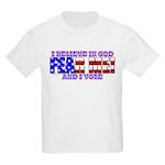Fear Me! (God) Kids Light T-Shirt