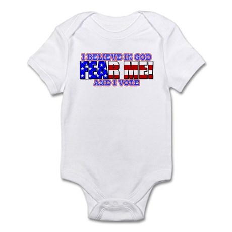 Fear Me! (God) Infant Bodysuit