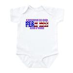 Fear Me! (God) Infant Bodysuit