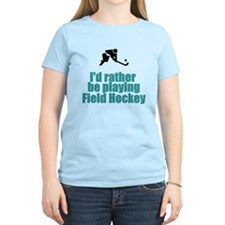 SportChick's HockeyChick Rather T-Shirt