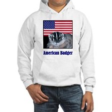 Stars and Badger Stripes Hoodie
