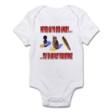 Never Go To Bed Angry Infant Bodysuit