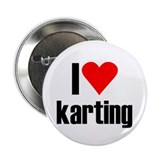 "I love karting 2.25"" Button"