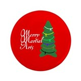 "Merry Martial Arts 3.5"" Button (100 pack)"