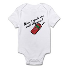Don't Make Me Call Pappou Infant Bodysuit