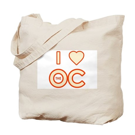 I Love the OC Tote Bag